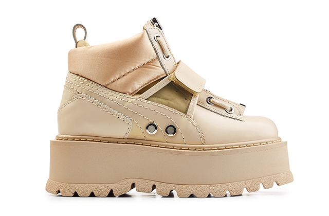 Fenty Puma by Rihanna Sneaker Boot Stap in Pink Tint, Dhs1,560