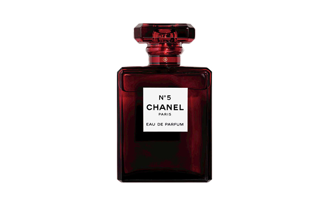 Chanel No. 5 limited-edition fragrance, price available upon request