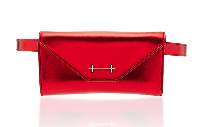 M2Malletier leather belt bag available on Moda Operandi, Dhs2,040