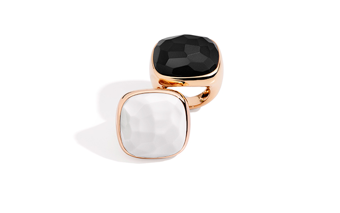 Pomellato Victoria rings, price available upon request