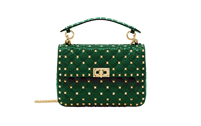 Valentino Garavani Middle Eastern exclusive Rockstud Spike bag, price available upon request