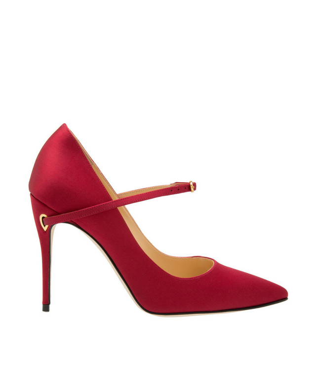 Lorenzo Satin Pumps, Dhs2,910