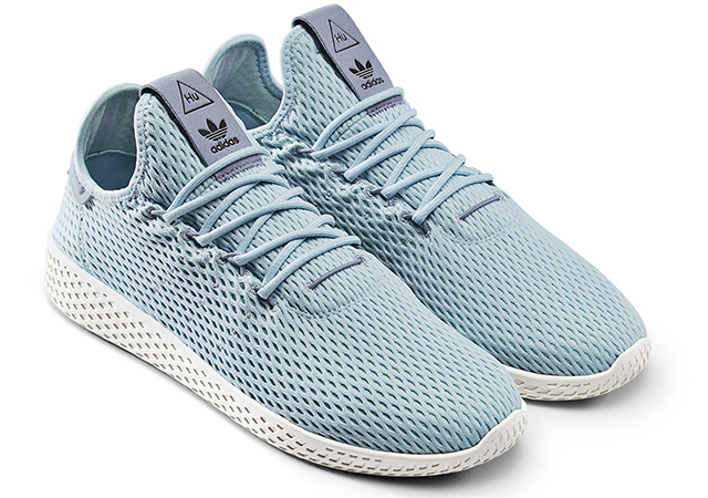 regarder 9400a 23dcc Adidas unveils Pharrell William's new Tenni Hu shoes and ...