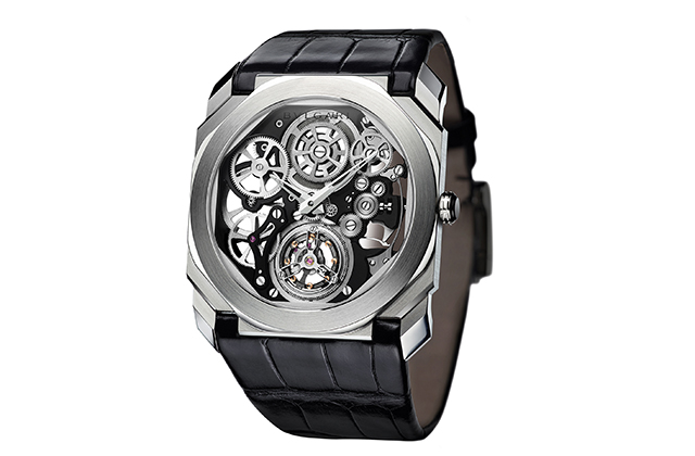Bulgari Octo Finissimo Tourbillon Skeleton –  Tourbillon and Escapement Watch Prize