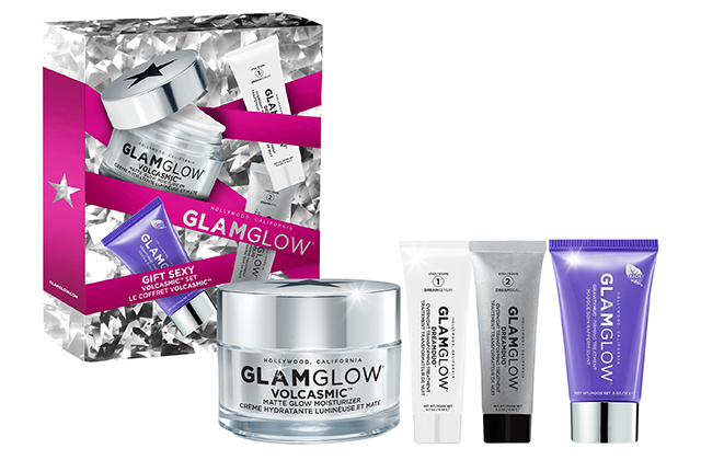 Glam Glow Volcasmic set, Dhs290