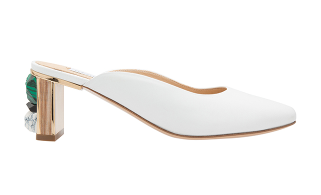 Lange Leather Mules, Dhs3,690