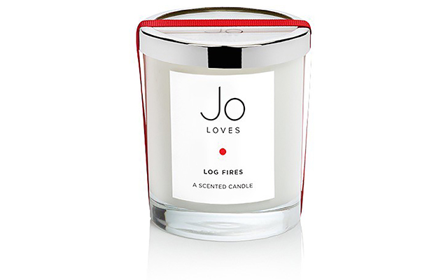 Log Fires scented candle