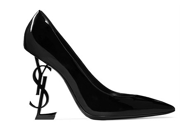 Saint Laurent Opyum patent-leather pumps, Dhs4,100