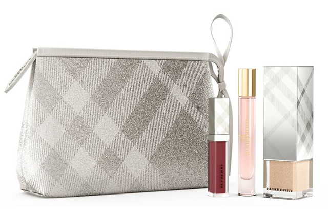 Burberry Festive Beauty Pouch Collection