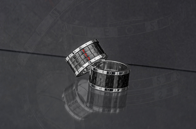 Combination Ring and Carbon Fibre Ring
