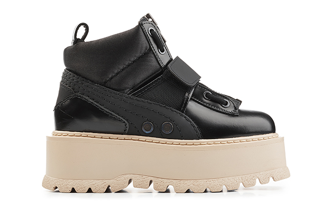 Fenty Puma by Rihanna Sneaker Boot Stap in Black, Dhs1,560