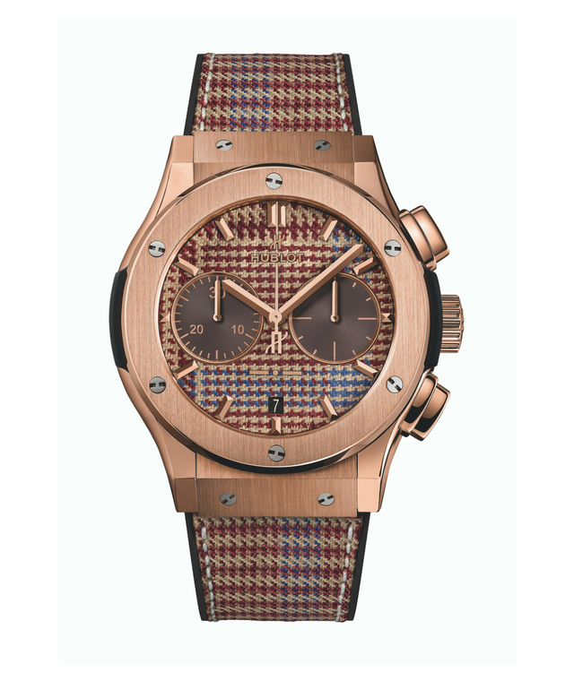 Hublot x Italia Independent in Prince of Wales check