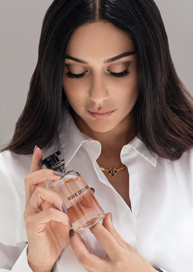 "Layla Kardan: ""What I love about perfume is that it becomes your personality, your style and your statement.\"""