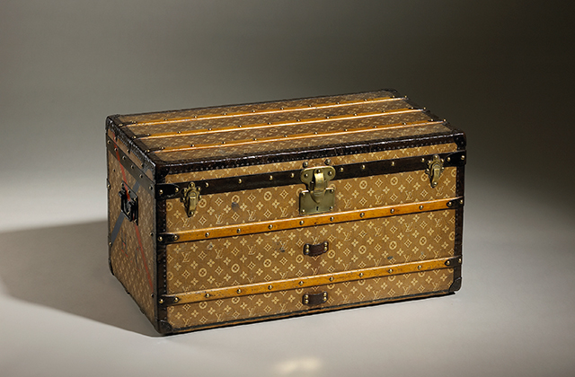 Mail Trunk in Monogram Canvas