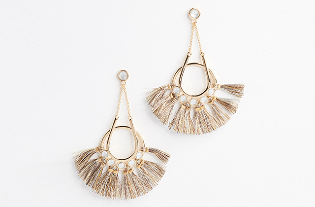 Rebecca Minkoff earrings, Dhs360