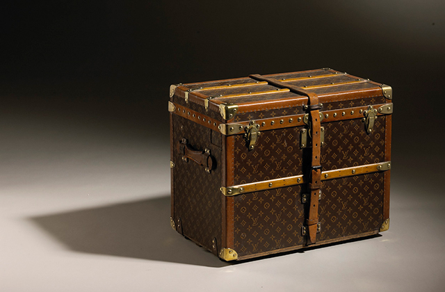 Shows Trunk in Monogram Canvas