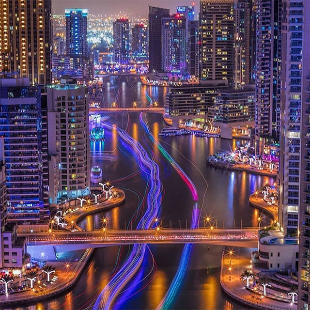 3. Dubai Marina – 1.2 million posts