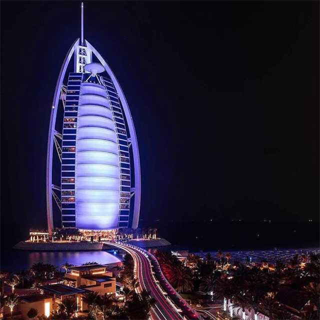 4. Burj Al Arab – 1 million posts