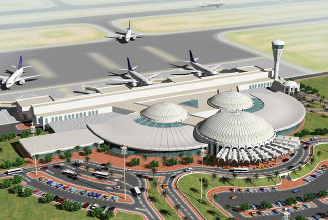 Plans for Expansion - The International Sharjah Airport, 2014