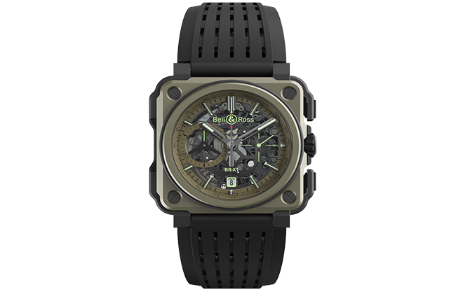 Bell & Ross BR-X1 Military, Dhs82,175