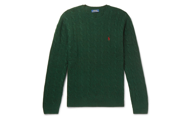 Polo Ralph Lauren cable-knit sweater, Dhs460