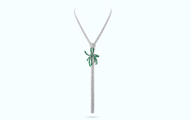 Van Cleef & Arpels' High Jewellery creation, price available upon request