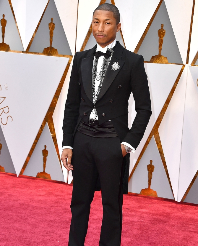Pharrell Williams, 2017