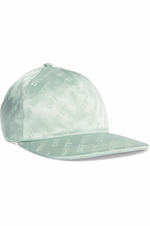 Satin baseball cap by Off-White