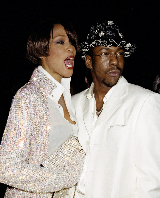 Whitney Houston and Bobby Brown, 1997