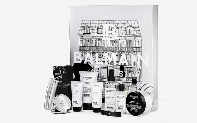 Balmain Limited Edition 10 Days of Balmain Paris Hair Couture Advent Calendar 2019