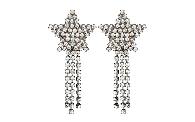 Jennifer Behr Shooting Star crystal earrings at MyTheresa