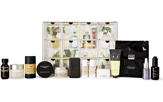 Mr Porter 12 Days of Grooming Advent Calendar