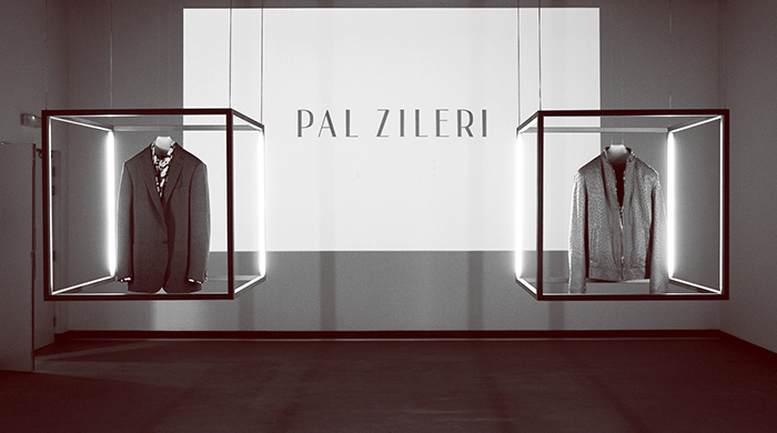Pal Zileri reopens with an arts party