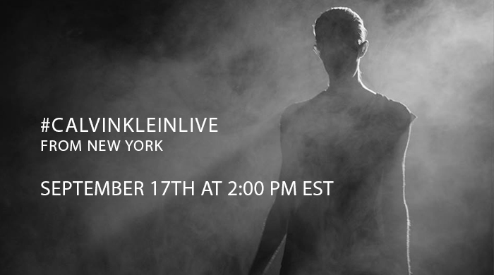 Watch live: See the Calvin Klein Spring/Summer 16 show live-stream from NYFW here