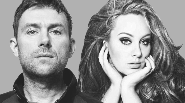 Revealed: Damon Albarn collaborated with Adele on her new album '25'