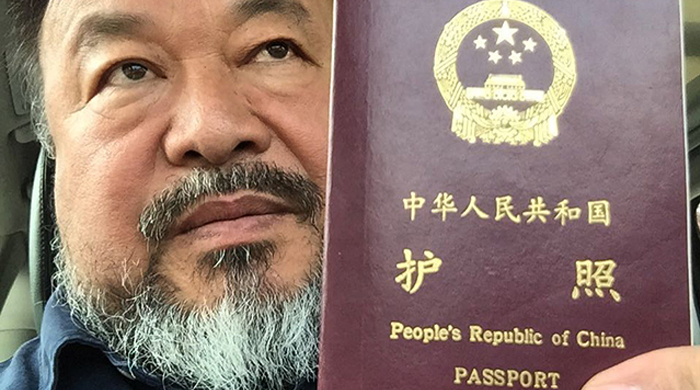 Ai Weiwei finally gets his passport back after four years