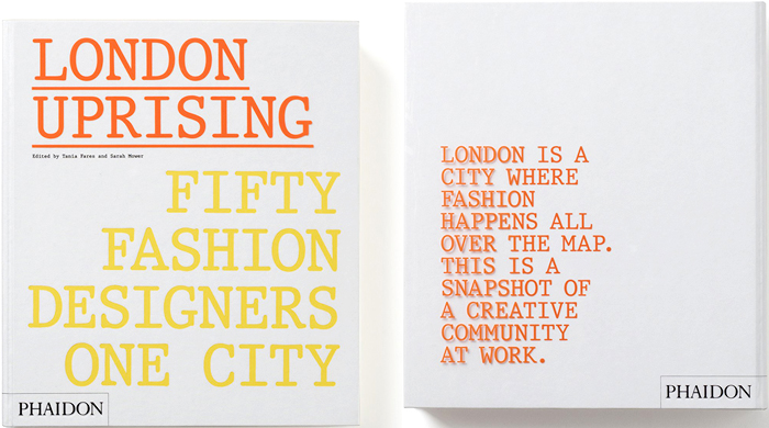 Book of the week: London Uprising – Fifty Fashion Designers, One City
