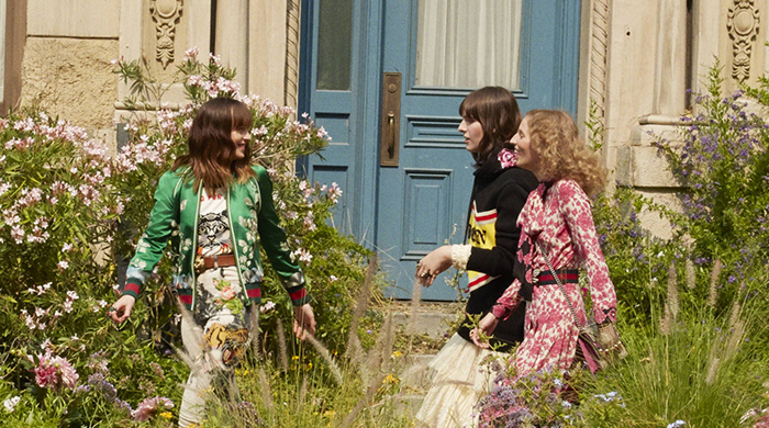 Must-watch: Dakota Johnson stars in Gucci Bloom's garden video