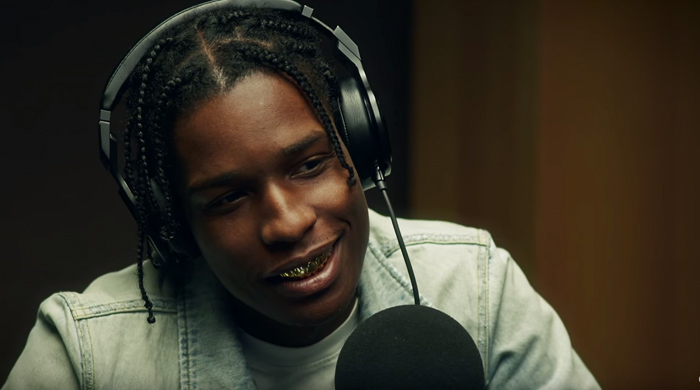 Watch now: A$AP Rocky discusses his new album and working with Rod Stewart