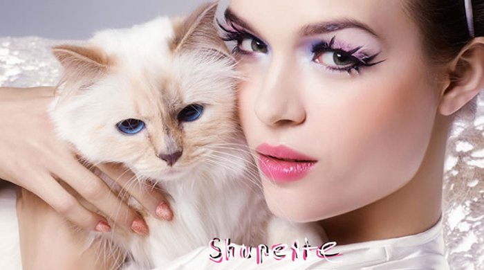 A closer look at 'Shupette by Karl Lagerfeld' for Shu Uemura
