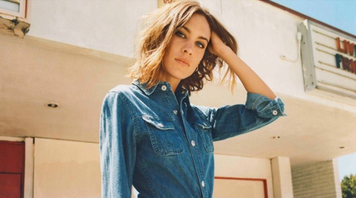Alexa Chung collaborates with AG Jeans once again for Autumn/Winter 15 collection