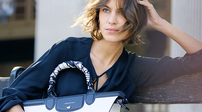 First look: Alexa Chung stars in Longchamp mini movie