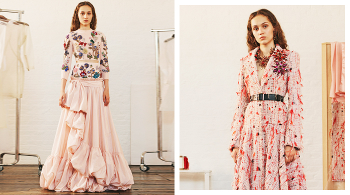 New in: Alexander McQueen's Resort '18 collection