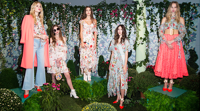 New York Fashion Week: Alice + Olivia Spring/Summer '18