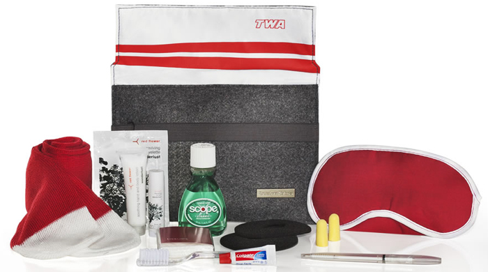 American Airlines launch retro-themed amenity kits