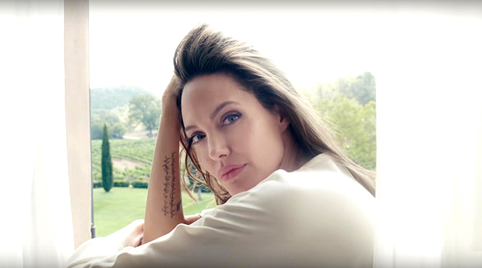 Must-watch: Angelina Jolie's first video for Guerlain