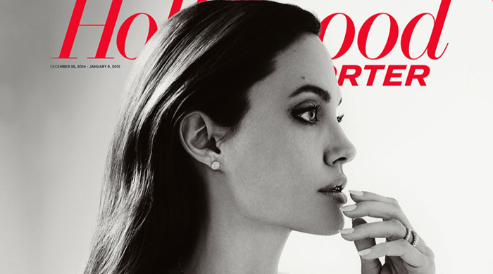 Angelina Jolie covers The Hollywood Reporter