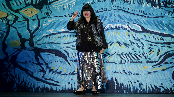 Anna Sui is launching an athleisure collection