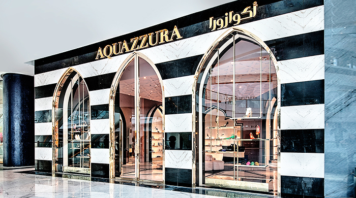 Aquazzura opens its first flagship boutique in the UAE
