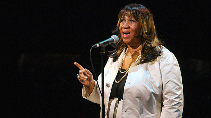Breaking news: Aretha Franklin has died, aged 76